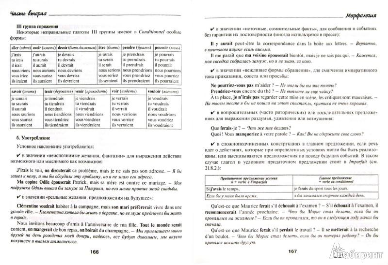 Грамматика французского языка в таблицах и схемах