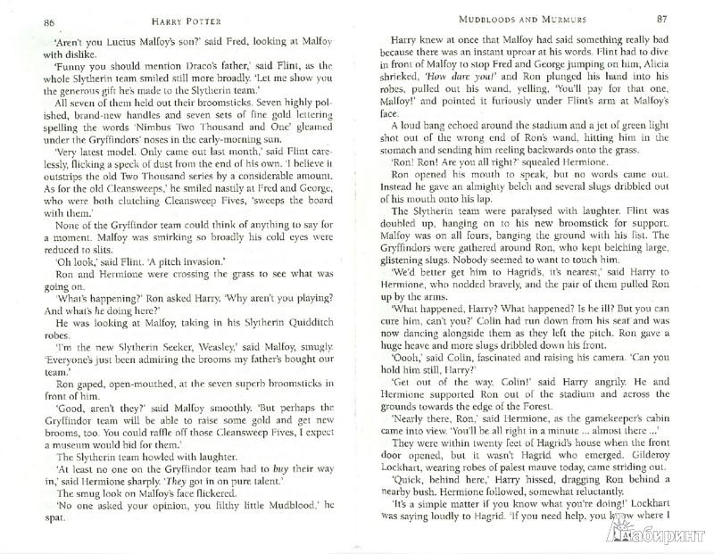 Иллюстрация 1 из 4 для Harry Potter and the Chamber of Secrets (Book 2) - Joanne Rowling | Лабиринт - книги. Источник: Лабиринт