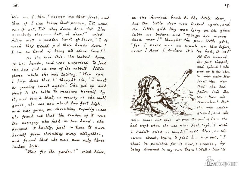 Иллюстрация 1 из 16 для Приключение Алисы под землей - Льюис Кэрролл | Лабиринт - книги. Источник: Лабиринт