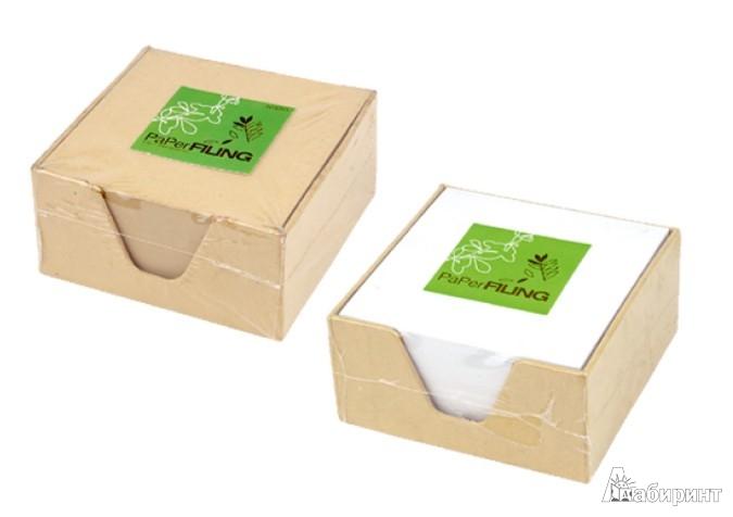 Иллюстрация 1 из 3 для Бумага для заметок в кубе из крафт-бумаги (070169) | Лабиринт - канцтовы. Источник: Лабиринт
