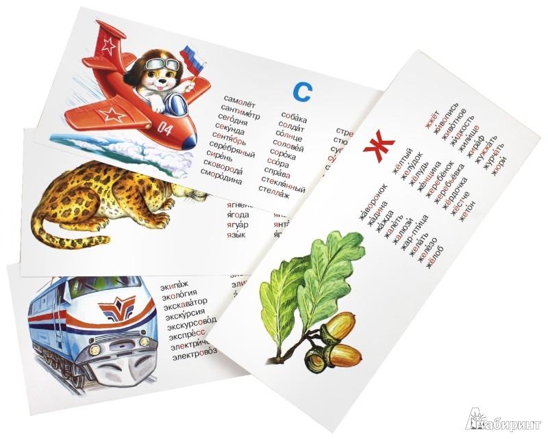 Иллюстрация 1 из 6 для Пишем правильно. Словарные слова. Набор карточек | Лабиринт - книги. Источник: Лабиринт