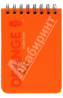 "Блокнот А7 ""Orange"" 50 листов, клетка (83364)."