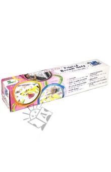 Лента-баннер для рисования для девочек (8710-08)Раскраски<br>Лента-баннер для рисования многоразовый.<br>Клей на водной основе. Приклеивается к большинству гладких поверхностей.<br>Размер: 300 мм х 4 м.<br>Упаковка6 картонная коробка.<br>Сделано в Германии.<br>