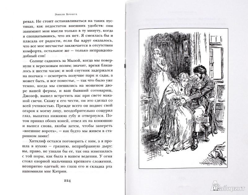Иллюстрация 1 из 8 для Грозовой перевал - Эмили Бронте   Лабиринт - книги. Источник: Лабиринт
