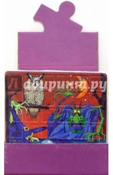 Мягкий пазл / блок-18 штук (фиолетовый)