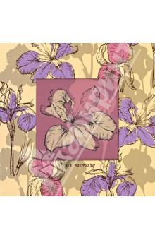 """Настольный блок для записи с фоторамкой """"Цветок"""" (32056) Феникс+"""