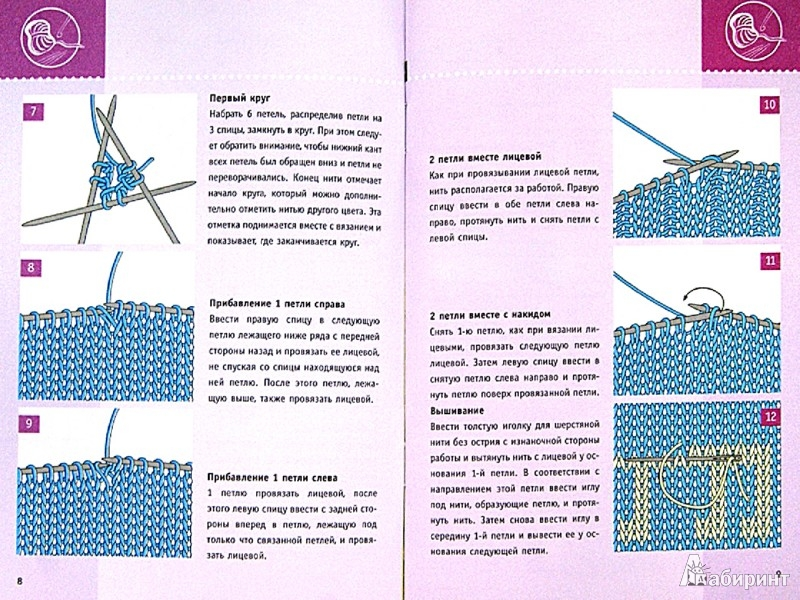 Иллюстрация 1 из 14 для Простейший способ. Новая техника вязания носков - Вероника Хуг | Лабиринт - книги. Источник: Лабиринт