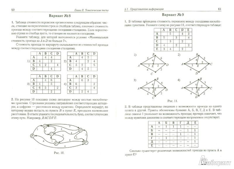 Иллюстрация 1 из 5 для Информатика. 9 класс. Тематические тесты для ГИА. Базовый, повышенный, высокий уровни - Евич, Кулабухов | Лабиринт - книги. Источник: Лабиринт