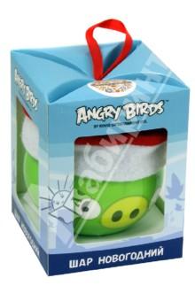 "Шар Angry birds ""Зеленая свинка в колпаке"" (Н88677)"