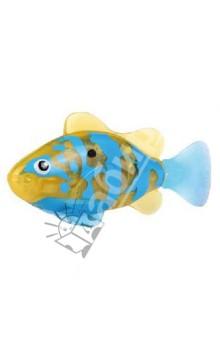 Тропическая РобоРыбка Белогрудый хирург (2549-4)Игрушки для ванной<br>Тропическая рыбка-робот не только выглядит как настоящая, она и двигается словно живая! Рыбка RoboFish свободно плавает в воде - опускаясь на дно или всплывая ближе к поверхности, оплывая преграды и меняя скорость движения. РобоРыбка работает от батареек и автоматически начинает плавать в воде. Интерактивная рыбка-робот понравится не только детям, но и взрослым!<br>Особенности: <br>- плавает как настоящая рыба<br>- реалистичные движения хвостом<br>- механизм активируется в воде <br>Размер рыбки примерно 8 см. <br>РобоРыбка работает на двух батарейках (в комплекте)<br>Подставка в наборе.<br>Содержит мелкие детали. Рекомендовано для детей старше 3-х лет. <br>Материал: пластмасса.<br>Сделано в Китае.<br>