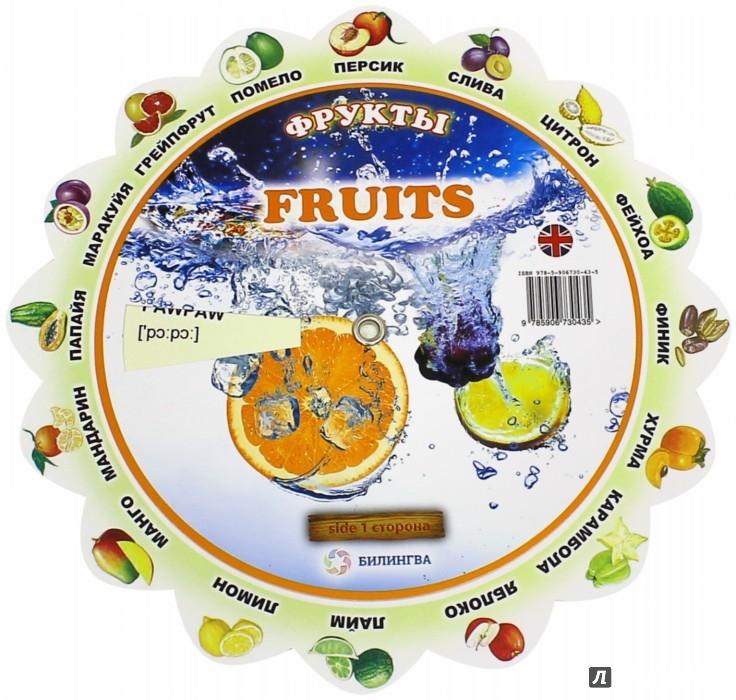 """Иллюстрация 1 из 10 для Тематический словарь """"Fruits/Фрукты""""   Лабиринт - книги. Источник: Лабиринт"""