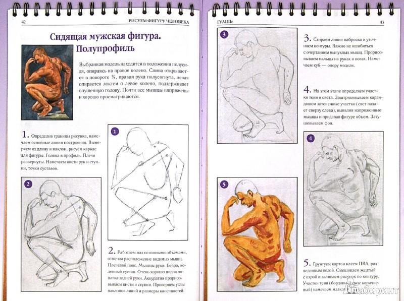 Иллюстрация 1 из 17 для Рисуем фигуру человека - Алла Марковская   Лабиринт - книги. Источник: Лабиринт