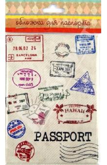 Обложка для паспорта (32398)Обложки для паспортов<br>Обложка для паспорта.<br>Размер: 13,3 х 19,1 см.<br>Материал: ПВХ.<br>Упаковка: блистер.<br>Сделано в России.<br>