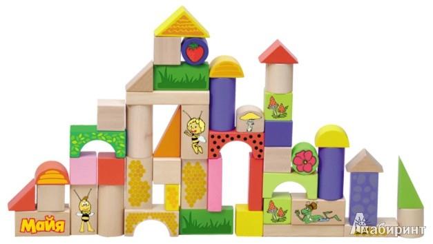 Иллюстрация 1 из 17 для Конструктор Майя и ее друзья 60 деталей (GT6311)   Лабиринт - игрушки. Источник: Лабиринт