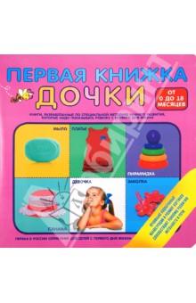 Первая книжка дочкиЗнакомство с миром вокруг нас<br>Первая в России серия книг для детей с первого дня жизни. Правильно подобранные размер и цвет иллюстраций способствуют раннему развитию речи и интеллекта.<br>От 0 до 18 месяцев.<br>