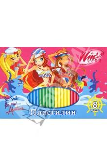 Пластилин Winx 8 цветов (12С 867-08/WO)