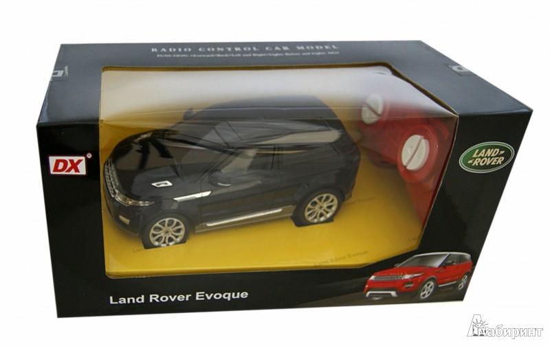 Иллюстрация 1 из 3 для Машинка Р/у 1:28 LAND ROVER Evoque на батарейках (122832DX) | Лабиринт - игрушки. Источник: Лабиринт