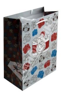 Пакет бумажный для сувенирной продукции 17,8x22,9x9,8 (32815)