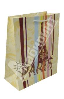 Пакет бумажный для сувенирной продукции 26x32.4x12.7 (32538)