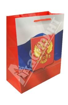 Пакет бумажный для сувенирной продукции 26x32.4x12.7 (32551)