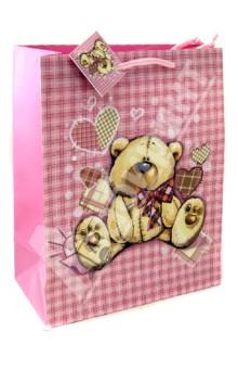 Пакет бумажный для сувенирной продукции 26x32.4x12.7 (32554)
