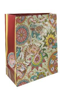 Пакет бумажный для сувенирной продукции 26x32.4x12.7 (32825)