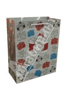 Пакет бумажный для сувенирной продукции 26x32.4x12.7 (32830)
