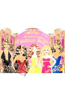 Модельное агенство Fashion StyleДругое<br>Книга для детского творчества:<br>- настольная игра;<br>- красивые интерьеры;<br>- раскраски с подсказками;<br>- множество ярких наклеек.<br>