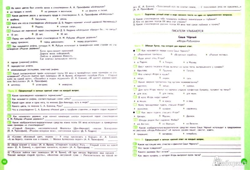 ГДЗ по литре 5 класс Ахмадулина