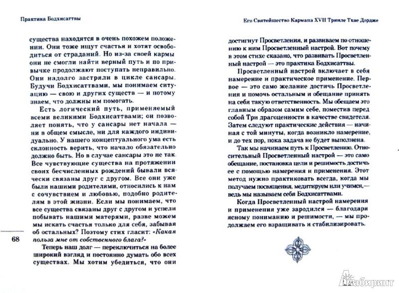 Иллюстрация 1 из 4 для Практика Бодхисаттвы - XVII Кармапа | Лабиринт - книги. Источник: Лабиринт