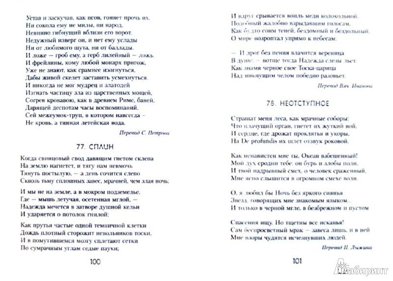 Иллюстрация 1 из 24 для Цветы зла - Шарль Бодлер   Лабиринт - книги. Источник: Лабиринт