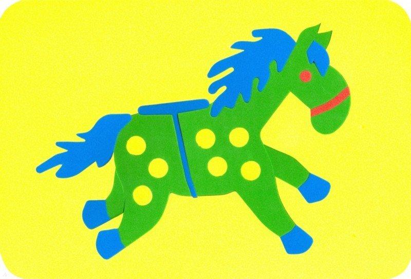 Иллюстрация 1 из 6 для Лошадка (27-2010) | Лабиринт - игрушки. Источник: Лабиринт