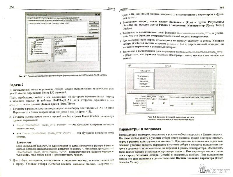 Иллюстрация 1 из 2 для Самоучитель Microsoft Access 2013 - Бекаревич, Пушкина | Лабиринт - книги. Источник: Лабиринт
