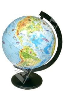 Глобус зоогеографический. Диаметр 320 мм. (10) Уральская картографическая фабрика
