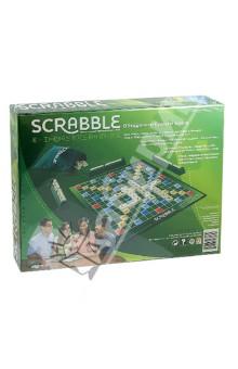 Игра Скрэббл Классический Scrabble (9618Y)Другие настольные игры<br>Настольная игра Скрэббл классический - игра-кроссворд для 2-4 игроков. Она идеально подходит для проведения досуга в кругу семьи или друзей и может стать отличным подарком для людей разных возрастов.<br>Игра состоит в формировании взаимосвязанных слов по принципу кроссворда. Слова составляются на игровой доске с использованием алфавитных косточек, имеющих различную ценность в очках. Каждый игрок стремится набрать наибольшее количество очков, создавая такие комбинации и расположения, в которых он использует косточки с наибольшей ценностью и покрывает премиальные клетки.<br>Игра на русском языке.<br>Уникальность и ценность Скрэббл состоит в том, что он несет в себе энергетику групповой игры, радость живого общения, сближает людей, одновременно развивая их интеллектуальные способности, обучая языку и логическому и творческому мышлению. Игра способствует развитию дружеских взаимоотношений между людьми, объединяет.<br>Скрэббл одинаково интересен и молодежи, и более старшему поколению.<br>В комплект входят:<br>- игровая доска;<br>- 104 фишки букв с обозначением очков;<br>- мешочек для фишек, который позволяет перемешивать и доставать их по принципу лото;<br>- 4 подставки для фишек;<br>- комплект правил. <br>Количество игроков: 2-4 человека.<br>Размер игрового поля: 27 х 27 см.<br>Материал: картон, пластик.<br>Упаковка: картонная коробка.<br>Для детей от 10 лет.<br>Сделано в Китае.<br>