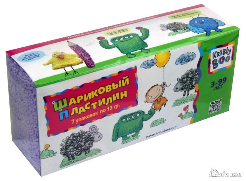 Иллюстрация 1 из 7 для Набор шарикового пластилина. 7 штук. (48374) | Лабиринт - игрушки. Источник: Лабиринт