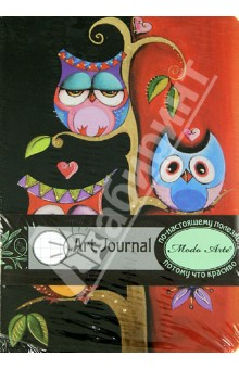 """Бизнес-блокнот Modo Arte """"Owls"""" А5- (6103)"""