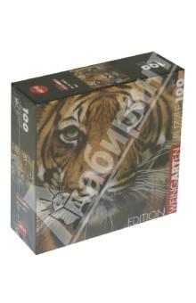 Puzzle-100 mini Тигр (29632)Пазлы (100-170 элементов)<br>Пазлы-мозаика.<br>Правила игры: вскрыть упаковку и собрать игру по картинке.<br>Кол-во элементов: 100 <br>Размер собранной картинки: 20х20 см.<br>Сделано в Чехии.<br>