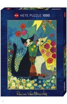 Puzzle-1000 На лугу (29616)Пазлы (1000 элементов)<br>Пазл-мозаика.<br>Количество элементов: 1000<br>Размер собранной картинки: 50х70 см.<br>Художник: Rosino Wachtmeister.<br>Упаковка: картонная коробка.<br>Сделано в Германии.<br>