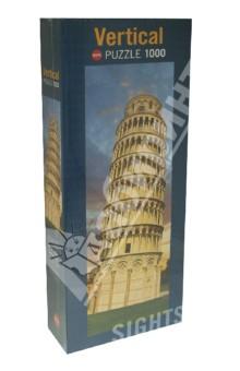 Puzzle-1000 Пизанская башня (29604)Пазлы (1000 элементов)<br>Пазл-мозаика.<br>Количество элементов: 1000<br>Размер собранной картинки: 33х94 см.<br>Упаковка: картонная коробка.<br>Сделано в Германии.<br>