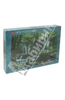 Puzzle-1000 Каскад водопадов (29602)Пазлы (1000 элементов)<br>Пазл-мозаика.<br>Количество элементов: 1000<br>Размер собранной картинки: 70х50 см.<br>Материал: картон<br>Упаковка: картонная коробка.<br>Сделано в Германии.<br>