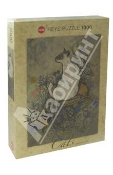 Puzzle-1000 Сиамская кошка (29610)Пазлы (1000 элементов)<br>Пазл-мозаика.<br>Количество элементов: 1000<br>Размер собранной картинки: 50х70 см.<br>Художник: Jane Crowther.<br>Материал: картон<br>Упаковка: картонная коробка.<br>Сделано в Германии.<br>