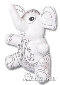 """Иллюстрация 1 из 2 для Игрушка для раскрашивания стираемая """"Слон"""" (TZ 12538)   Лабиринт - игрушки. Источник: Лабиринт"""