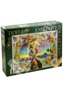 "Step Puzzle-1500 ""Нефертити"". Золотая коллекция (83403)"