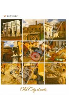 """Тетрадь общая """"Old City Streets"""" (48 листов, клетка, в ассортименте) (811296-55)"""