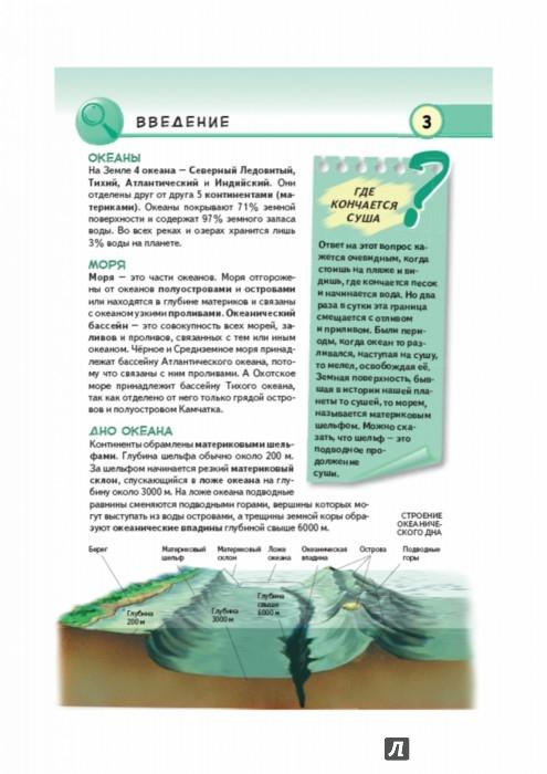 Иллюстрация 1 из 11 для Подводный мир. Обитатели морей и океанов - Юлия Школьник   Лабиринт - книги. Источник: Лабиринт