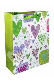 Пакет бумажный для сувенирной продукции 32*26*10 см (33661)