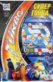 Магнитная книжка-игра ТУРБО. Супер гонка (51213)Развитие общих способностей<br>Вашему вниманию предлагается настольная развивающая игра Супер гонка.<br>В наборе: игровое поле, магнитные фишки, игровой кубик, дополнительные магнитные персонажи, инструкция, постер.<br>Из-за наличия мелких деталей не рекомендуется детям до 3-х лет.<br>Сделано в Китае.<br>
