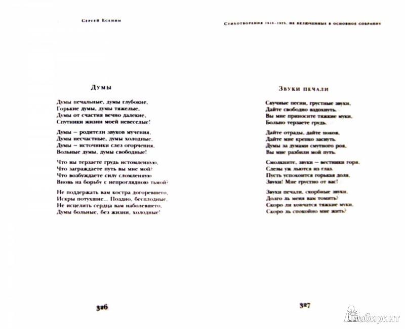 Иллюстрация 1 из 11 для Стихотворения - Сергей Есенин | Лабиринт - книги. Источник: Лабиринт