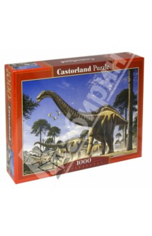 """Puzzle-1000 """"NEW Динозавры"""" (C-102976)"""